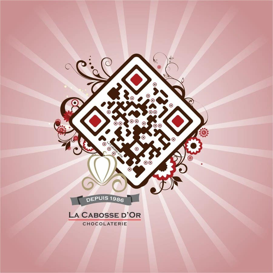 Proposition n°10 du concours QR Code Design for our Chocolate Factory