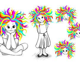 #143 for Draw Dr.Suess/Sketch type of drawing of real person with neon rainbow hair by EMcKingley