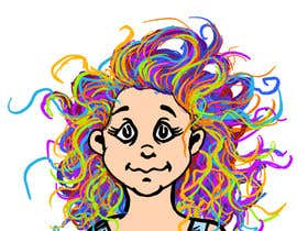 #69 for Draw Dr.Suess/Sketch type of drawing of real person with neon rainbow hair by stigs