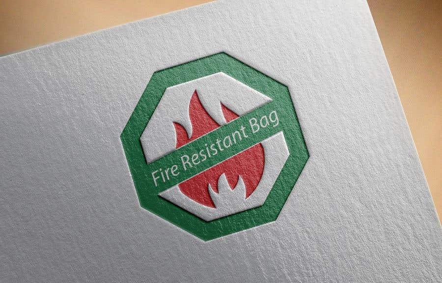 Συμμετοχή Διαγωνισμού #14 για Logo for a fire resistant gag for storing documents and other valuable belongings.  Need a creative design away from the flame icon.
