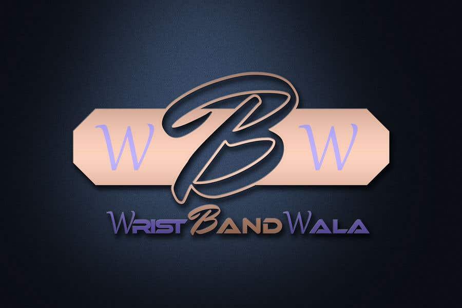 Penyertaan Peraduan #31 untuk Design A Logo for a Silicone Wrist Band Company.... Wristbandwala.com