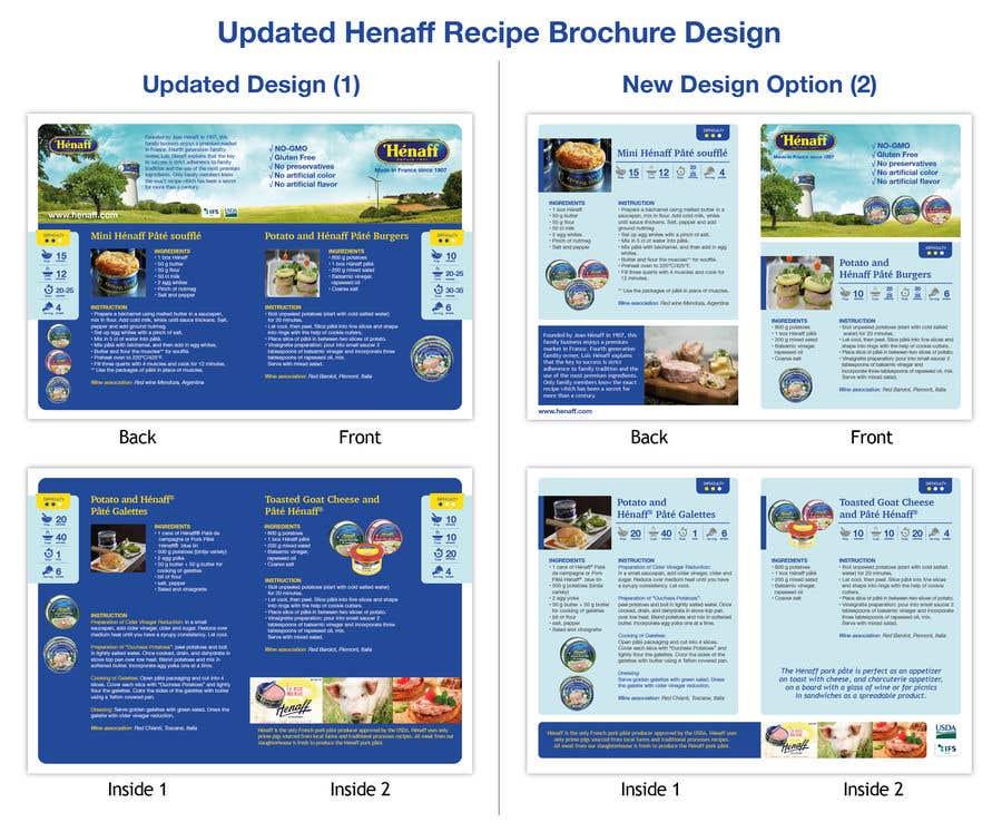 Entry #47 by Lelaku for Design a Brochure - food recipe