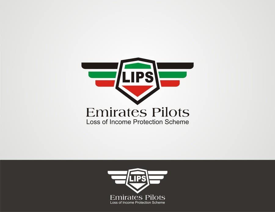 Inscrição nº 49 do Concurso para Logo Design for Emirates Pilots Loss of Income Protection (LIPS)