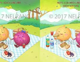 #77 untuk Draw a cute cartoon oleh NELRANO