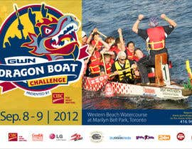#2 for Flyer Design for Major League Dragon Boat events af MOHR