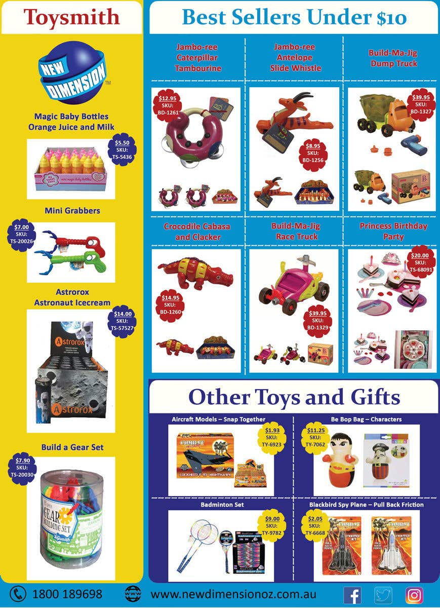 Contest Entry #                                        46                                      for                                         Sales Flyer Template Childrens Toys