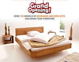 Nro 10 kilpailuun Design of a newspaper Advert for Furniture Business - 2 x 6 month contract käyttäjältä arunvayalunkal