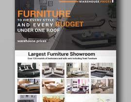 Nro 20 kilpailuun Design of a newspaper Advert for Furniture Business - 2 x 6 month contract käyttäjältä hmfaisal004