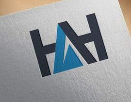 Nro 21 kilpailuun Logo designed using H A H incorporated into mountains käyttäjältä Jibonapon24