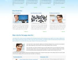 #49 for Wordpress Theme Design for Cloud-Phone Inc. af shinedesign