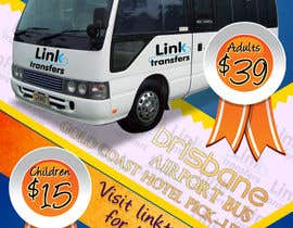 #44 untuk Flyer Design for Airport Transfer company (DL size) oleh multitasker2012