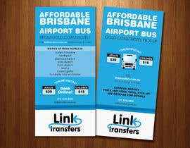 #1 para Flyer Design for Airport Transfer company (DL size) por wickedthing