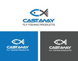 #496 for Castaway Fly Fishing Products Logo/Branding by fokirchan71