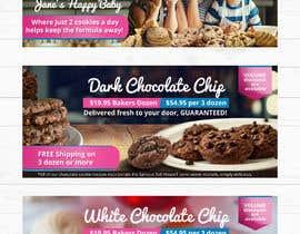 #73 untuk Cookie Ad Banners oleh fourtunedesign
