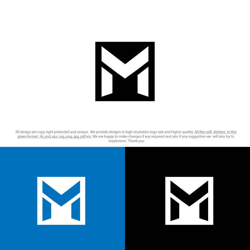 Entry 41 By Sixgraphix For Create A Logo With Just The Letter M