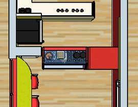 #44 for Fresh Juice shop Design . 3D Modeling by SMARTandSOLID