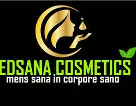 "#13 for logo for my business. Its about natural home-made cosmetics (cremes, soaps etc) witch are also terapeutical. The name is ""medsana cosmetics"". slogan is ""mens sana in corpore sano"" . Maybe a woman shape from the side holding something like a chamomile by GripichDesigner"