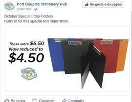 #7 for Port Douglas Stationery Hub Ad by OliverMtz