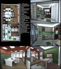 Graphic Design Contest Entry #2 for Spatial/Interior design for Showroom cum office space
