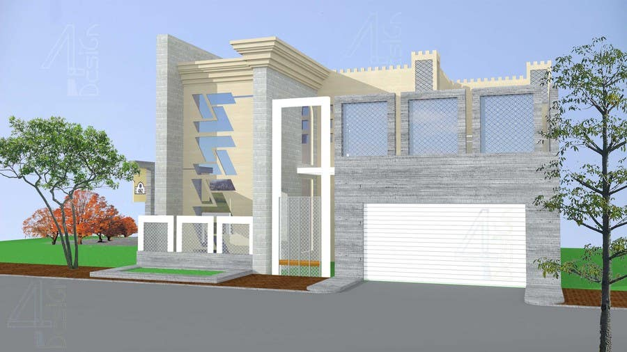 Entry 52 By Four4design For Design Of Elevations For A Small Modern