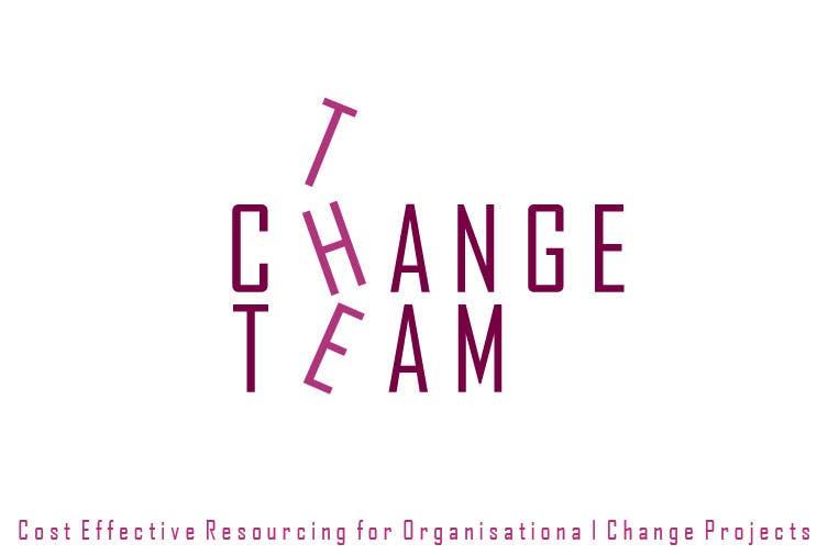 Proposition n°                                        72                                      du concours                                         Design a Logo for 'The Change Team'