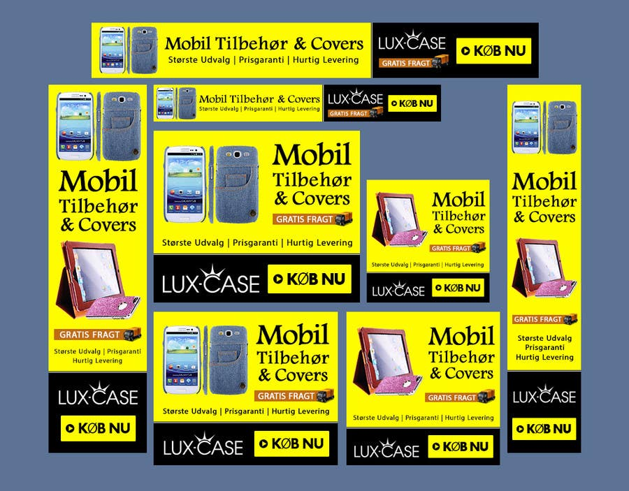 Bài tham dự cuộc thi #56 cho Banner Ad Design for Online shop selling mobile phone accessories
