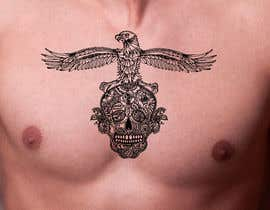 nº 34 pour tattoo chest man par ratnakar2014