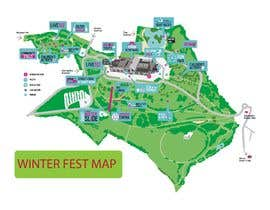 #11 para Experienced Illustrator – Winter Festival 'Magical' Site Map por WeR3RAFI