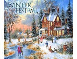 #9 para Experienced Illustrator – Winter Festival 'Magical' Site Map por Txm24