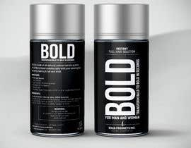 #73 cho Design a Hair Product Label that is Clean, portrays Confidence, and is BOLD bởi cutterman