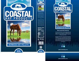 #24 para Print & Packaging Design for Coastal Hay Products, Inc. por jtmarechal
