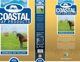nº 13 pour Print & Packaging Design for Coastal Hay Products, Inc. par jtmarechal