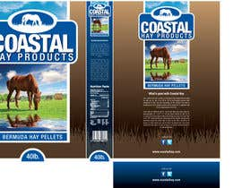 #26 para Print & Packaging Design for Coastal Hay Products, Inc. por jtmarechal