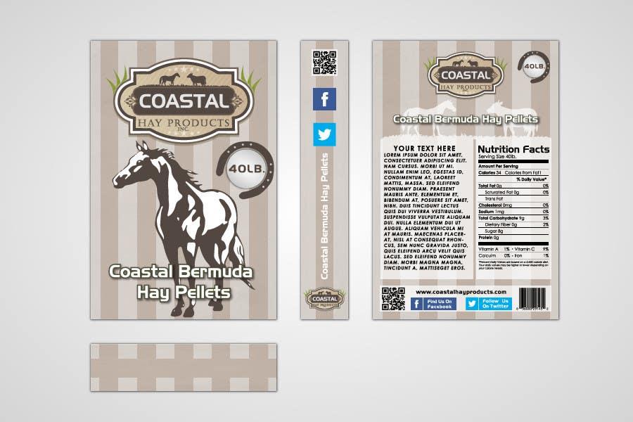 Bài tham dự cuộc thi #23 cho Print & Packaging Design for Coastal Hay Products, Inc.
