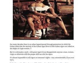 Nro 4 kilpailuun The myth of virgin women Cuban cigar rollers käyttäjältä Prof121212
