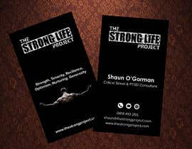 #120 for Design for Business Cards using my website for theme www.thestronglifeproject.com   Details for card  Shaun O'Gorman Critical Stress & PTSD Consultant 0414 410 265 shaun@thestronglifeproject www.thestronglifeproject.com by monowerhridoy