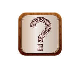 #15 for icon for iOS app for iPhone and iPad about words and questions by Djdesign