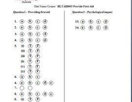 RoyalCorpSer tarafından Write a answer sheet için no 1