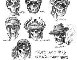 #2 for Drawing seven skulls by simonayudante