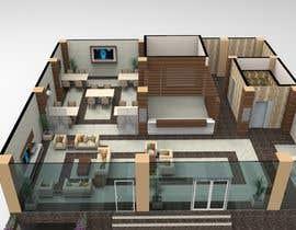 Arkhitekton007 tarafından Small Motel Lobby & Staff Offices için no 10