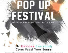 #39 for Poster - Pop Up Festival of Music, Food and Art by usamawajeeh123