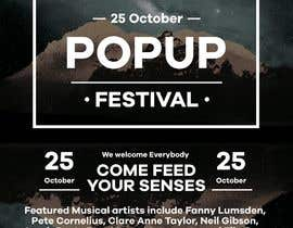 #40 for Poster - Pop Up Festival of Music, Food and Art by marcelomnia