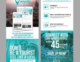 Nro 17 kilpailuun Design a Flyer for a travel startup käyttäjältä ephdesign13