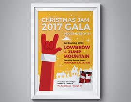 #10 for Gig Poster for Christmas Rock Concert by fedesoloa