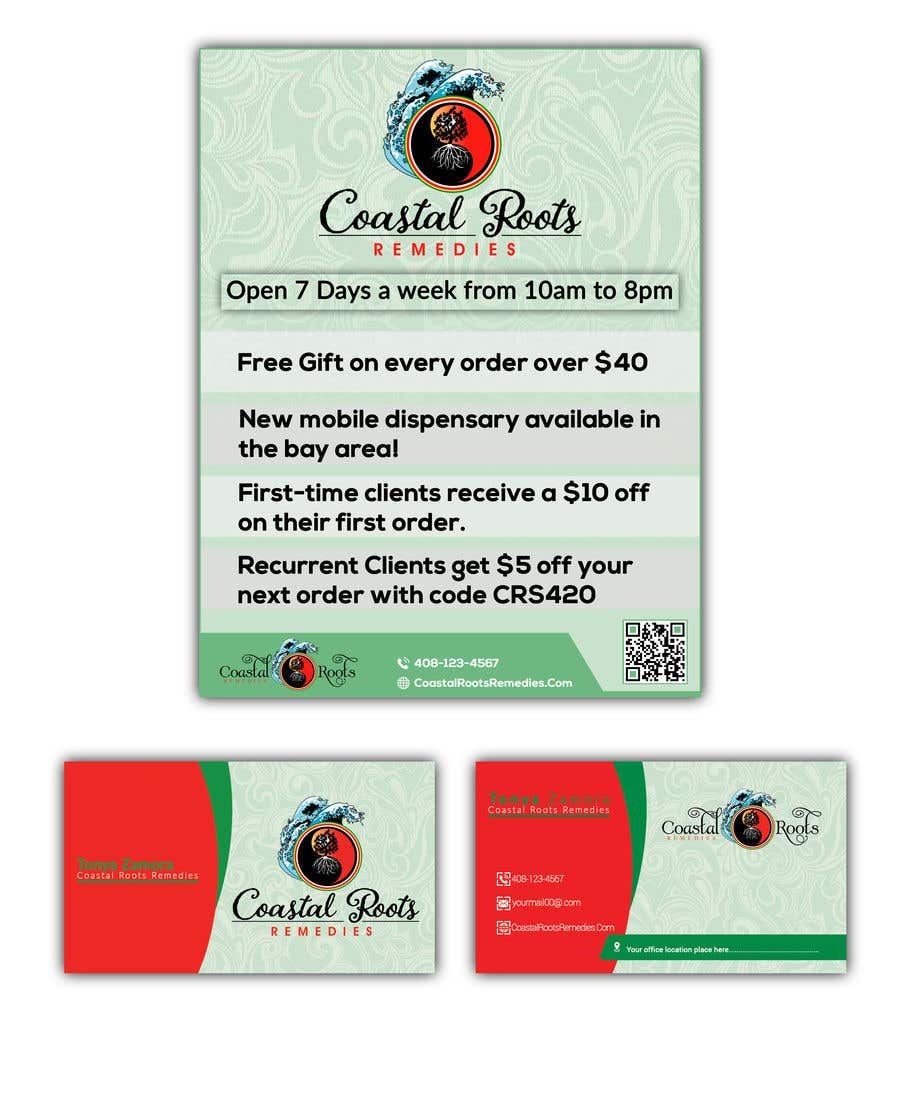 Entry #42 by baten1717 for Design a flyer & business card ...