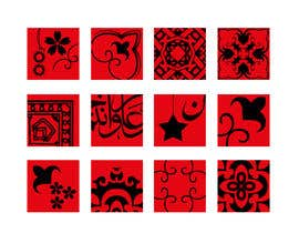 #10 for Design an acrylic wall panel with oriental tiles 3D by lreine