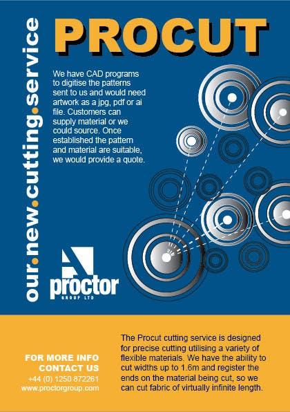 Конкурсная заявка №47 для Advertisement Design for A. Proctor Group Ltd