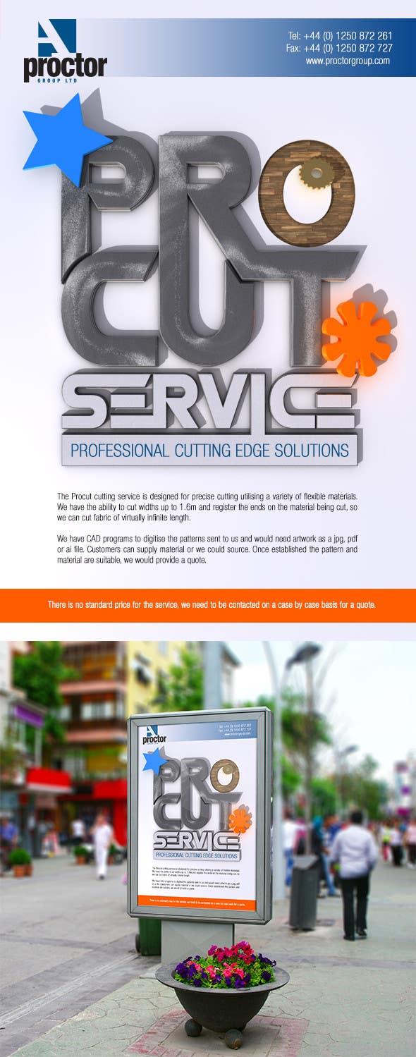 Конкурсная заявка №53 для Advertisement Design for A. Proctor Group Ltd