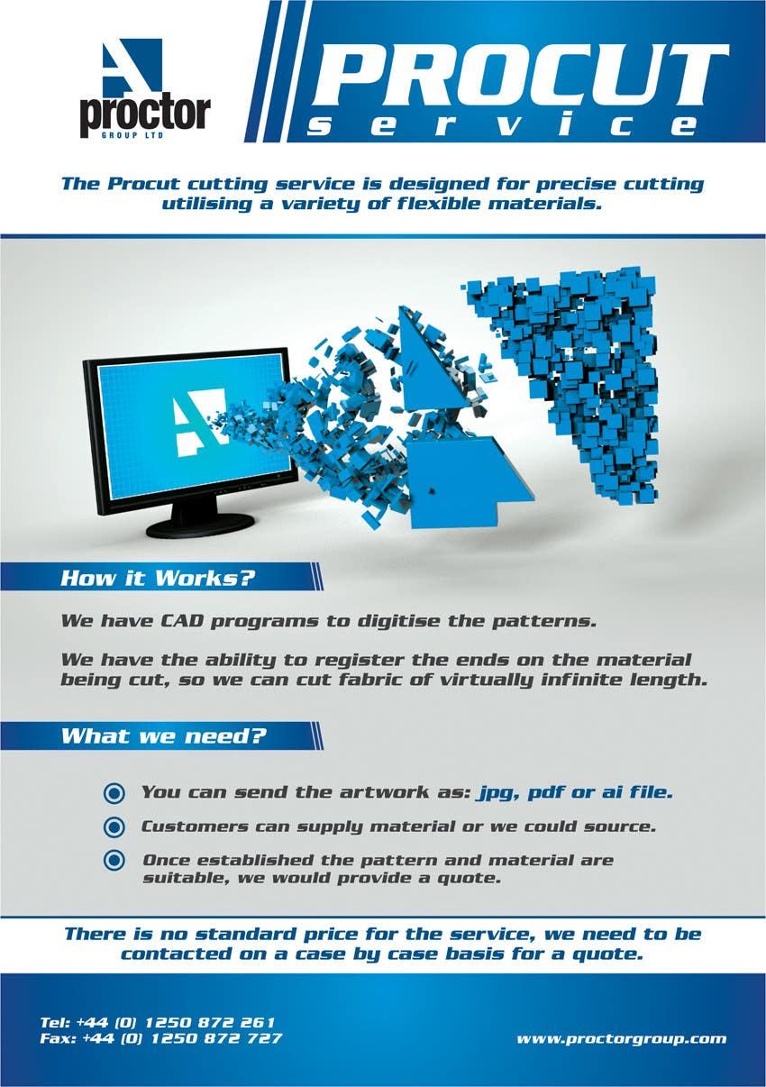 Конкурсная заявка №85 для Advertisement Design for A. Proctor Group Ltd