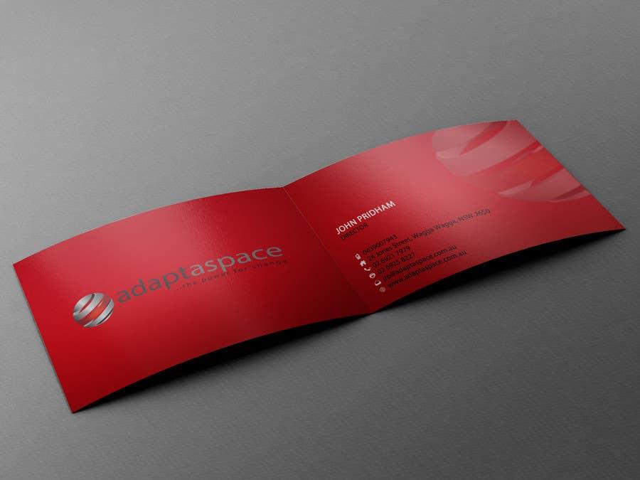 Konkurrenceindlæg #                                        11                                      for                                         Business Card for adaptaspace